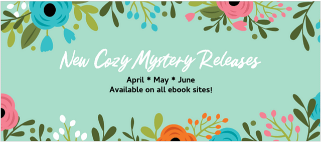 cozy mystery books new releases