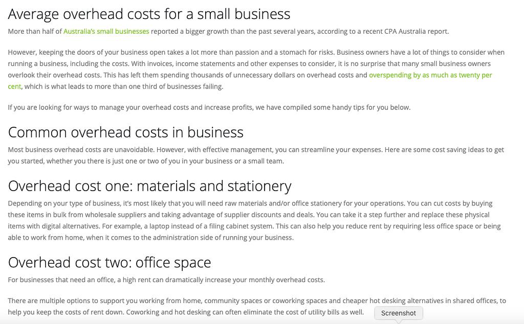 copywriting services portfolio