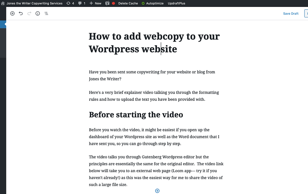how to add webcopy to website
