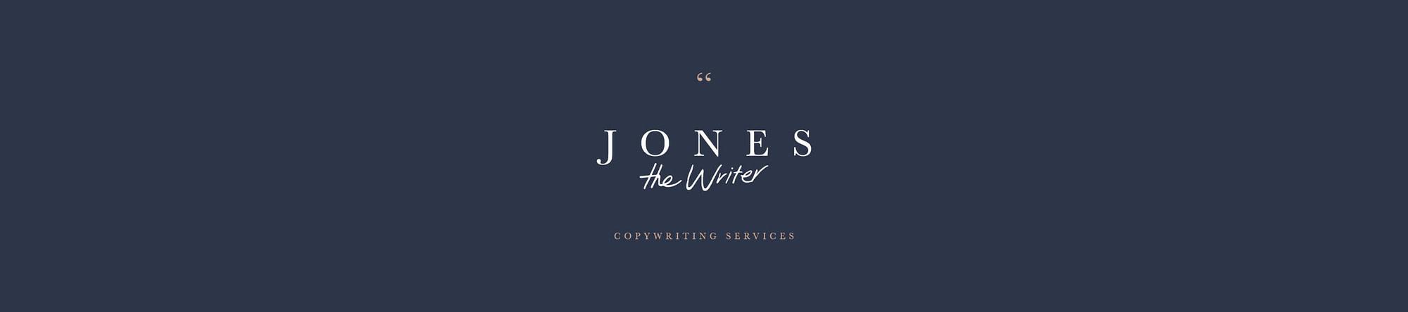 Jones the Writer Copywriting Services
