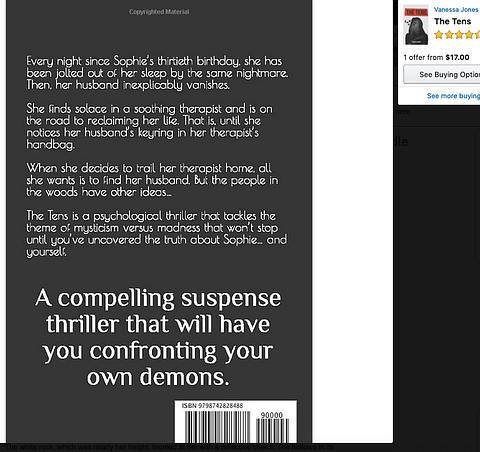 book blurb writing copywriter