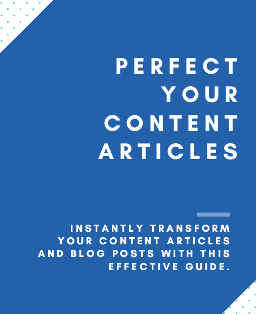 write better content articles