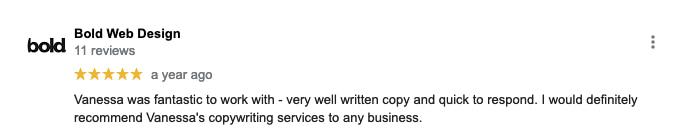 good copywriter