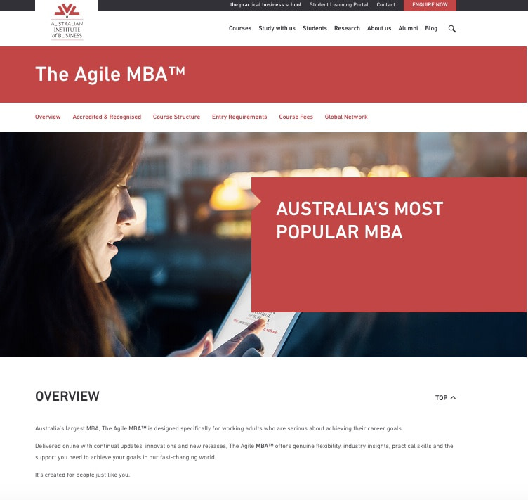 copywriting services MBA